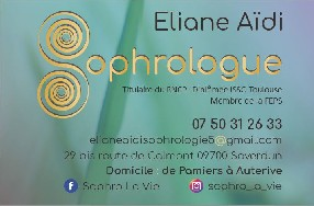 ELIANE AIDI SOPHROLOGIE Saverdun